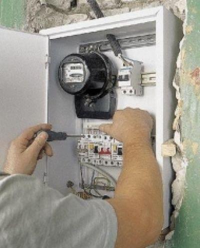 Как сделать электрический счетчик в стену
